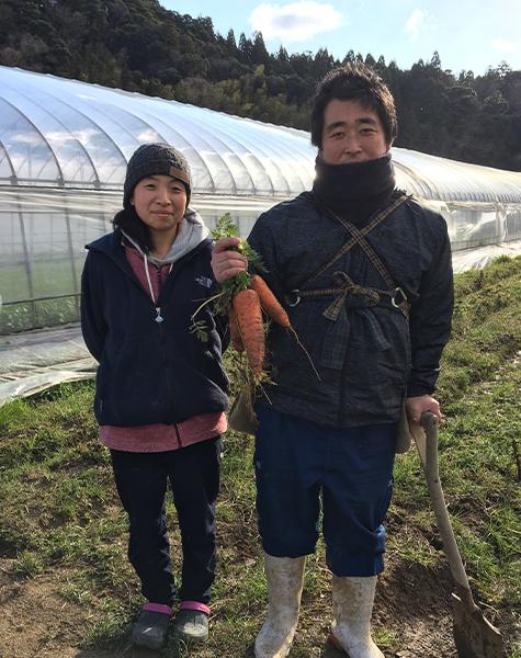渡邊荘太郎さん夫妻